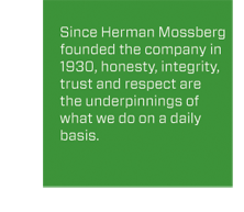 Mossberg Core Values