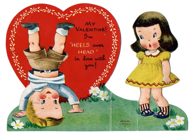 Mossberg Company Inc Aaaahhh Valentines Day Mossberg and – Vintage Valentines Card